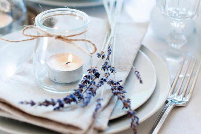 結婚式のテーブルのイメージ