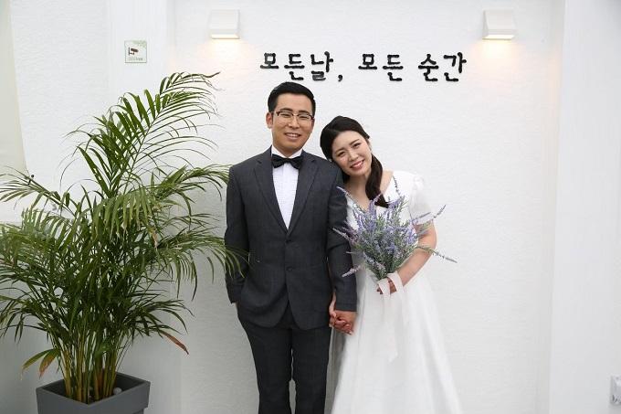 韓国の方との国際結婚。結婚式の前撮りの様子